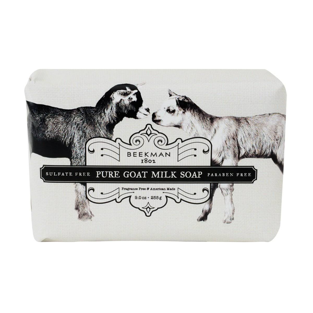 Beekman 1802 Pure Goat Milk Soap - Fragrance Free, 9.0oz Bar