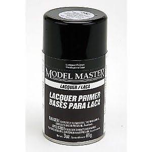 Testors mm 3oz Super Fine Gray Lacquer Spray