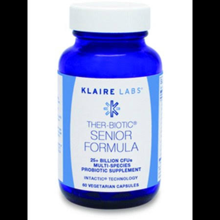 Klaire Labs Ther-biotic Senior Formula - 60ct
