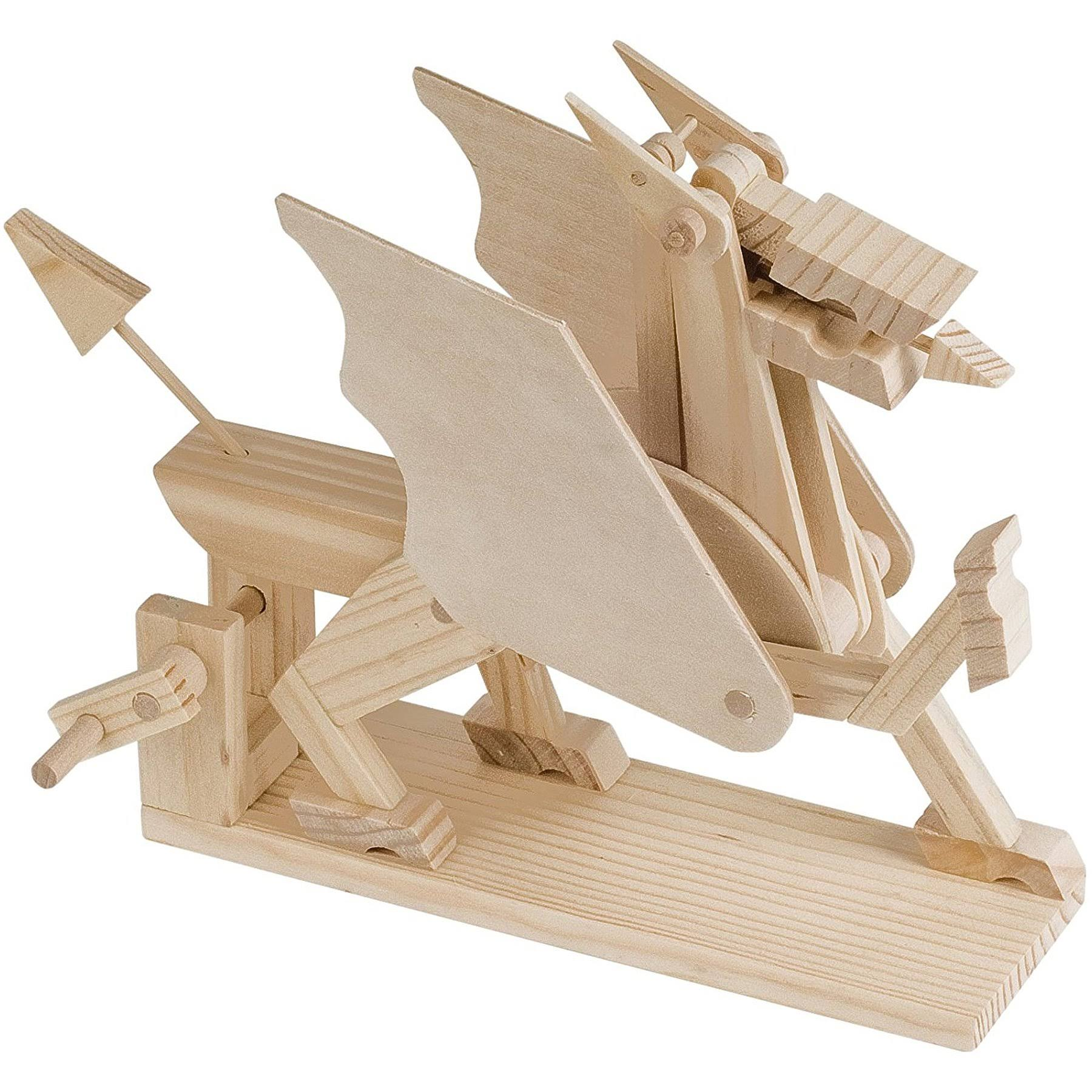 Timberkits - Dragon - Mechanical Wooden Construction Kit