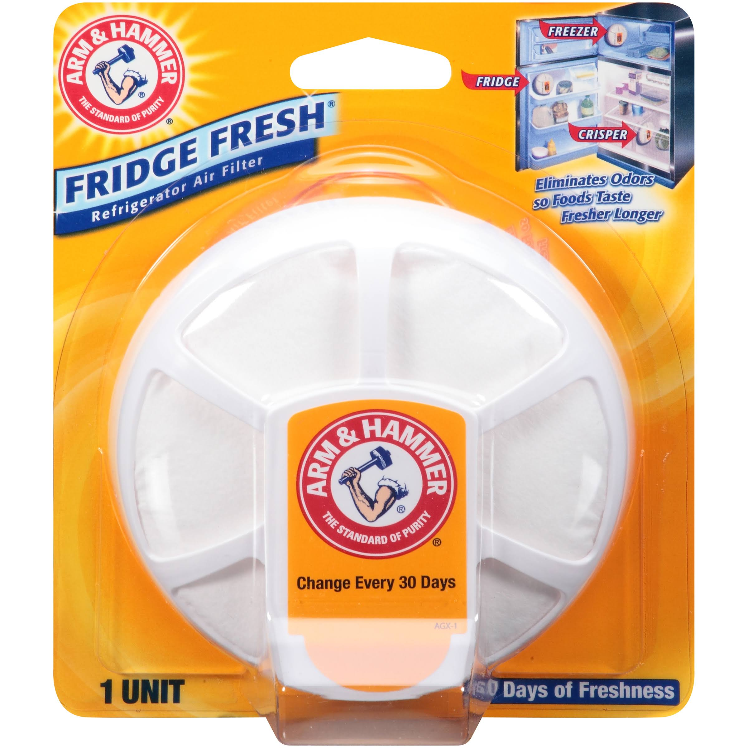 Arm and Hammer Fridge Fresh Refrigerator Air Filter