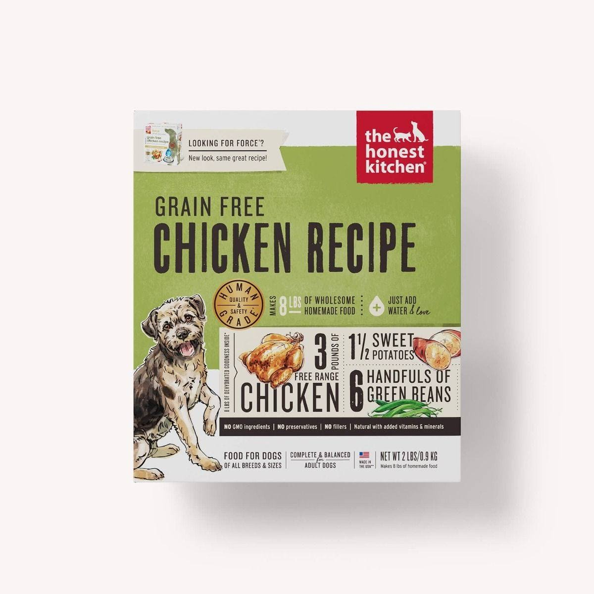 The Honest Kitchen Force Dog Food - Chicken