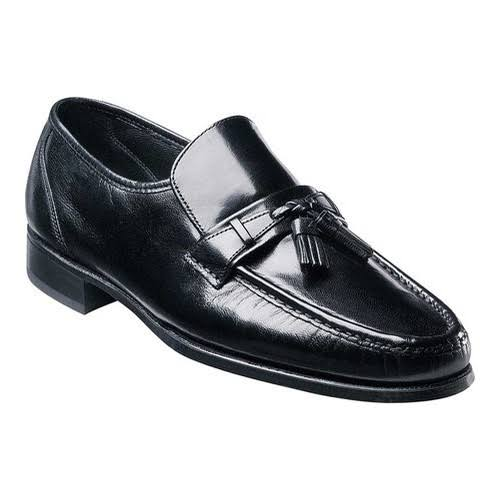 Florsheim Men's Como Tassel Loafers Shoes - Black, 13 M US
