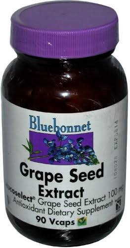 BlueBonnet Grape Seed Extract Supplement - 60 Capsules