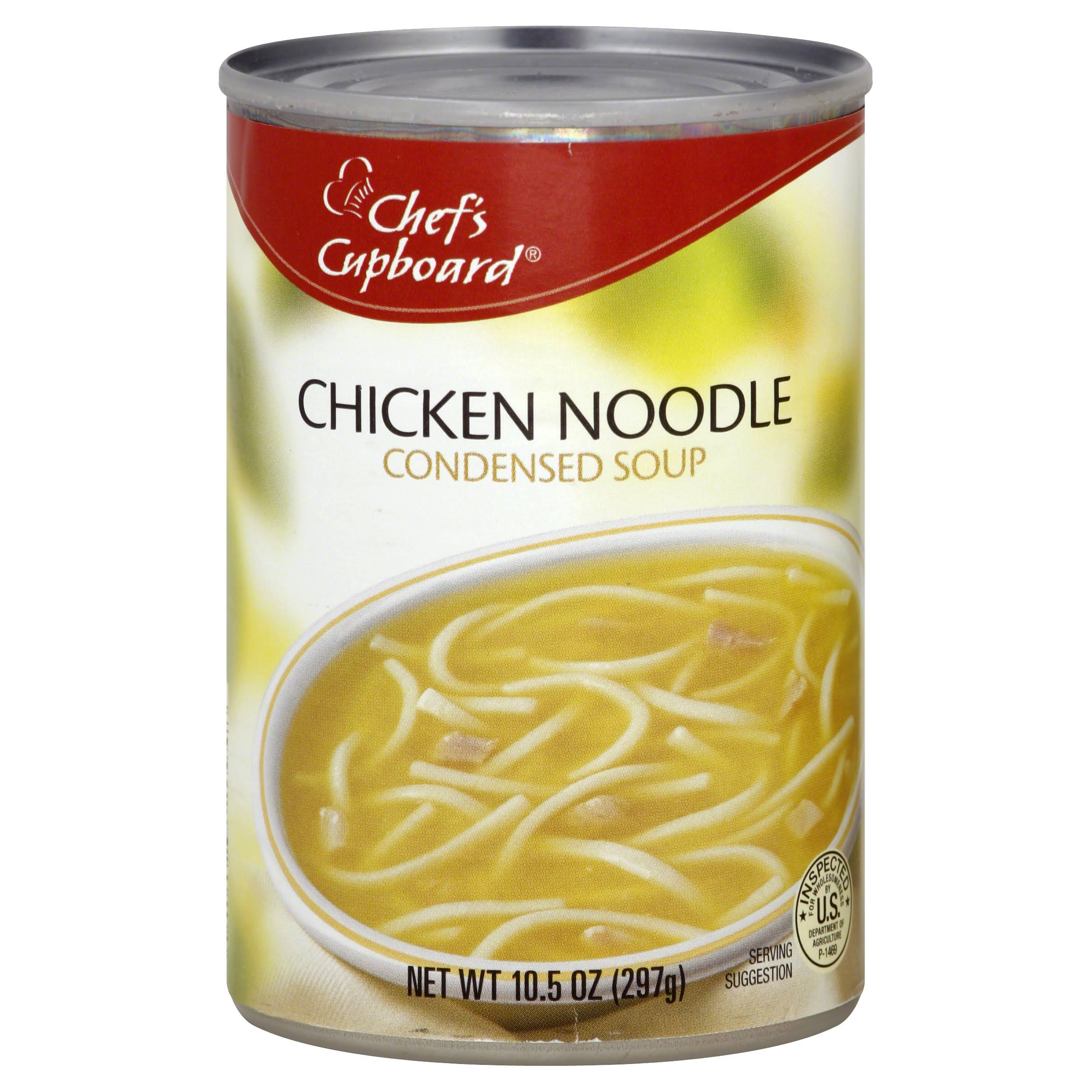 Chefs Cupboard Soup, Condensed, Chicken Noodle - 10.5 oz