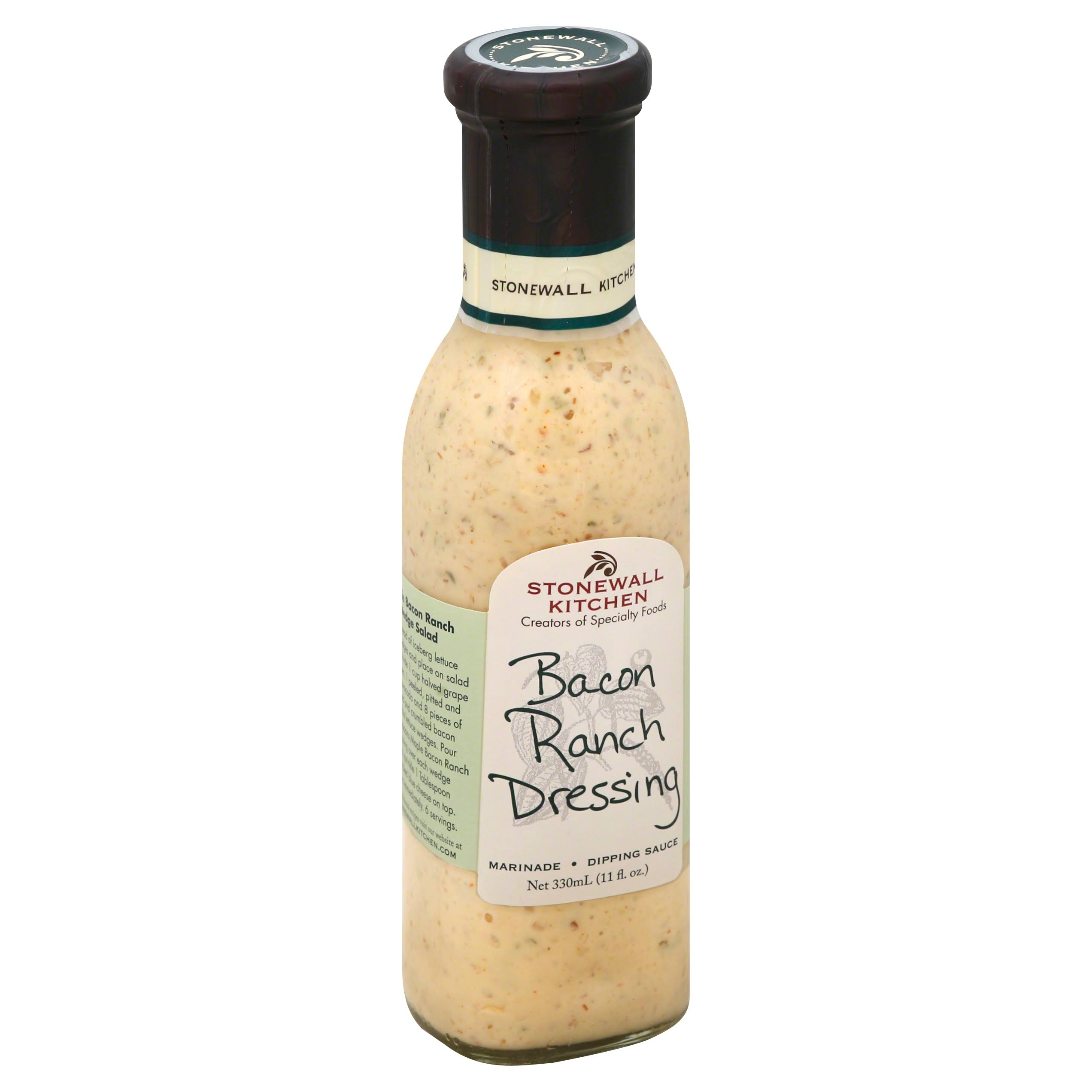 Stonewall Kitchen Dressing - 330ml, Bacon Ranch