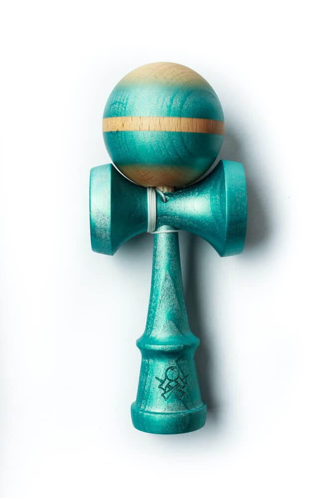 Sweets Kendamas - Prime Custom V9 - Color Splash: Sapphire - Cushion Clear