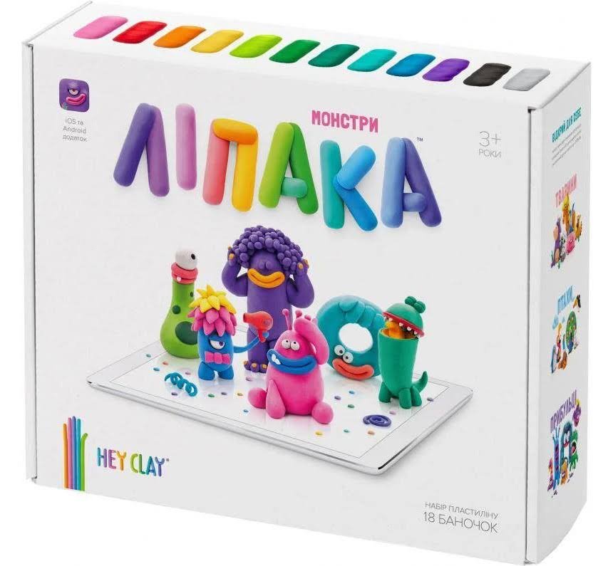 Lipaka Monsters Modeling Clay Set