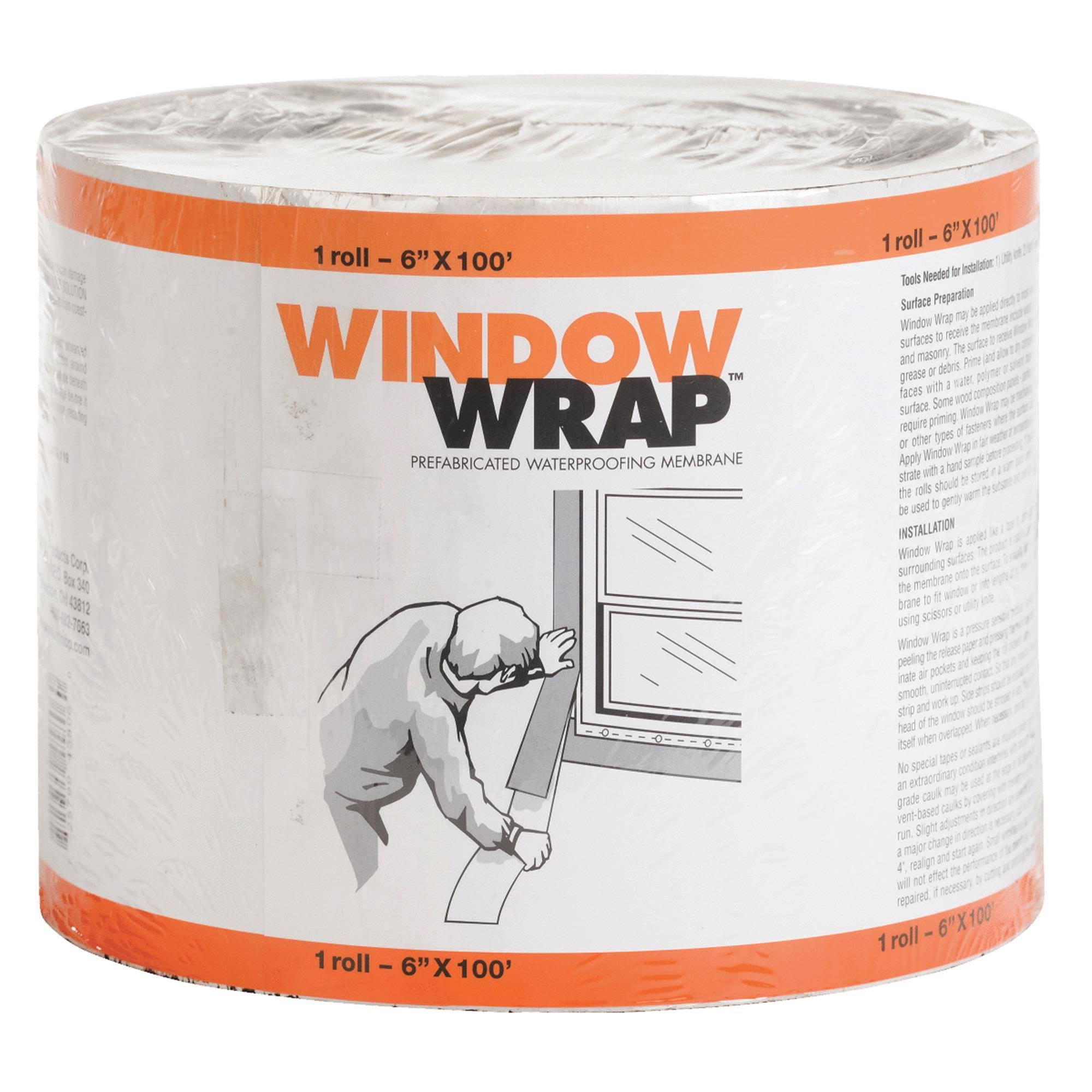 MFM Building Products 45w06 Window Wrap - 6""