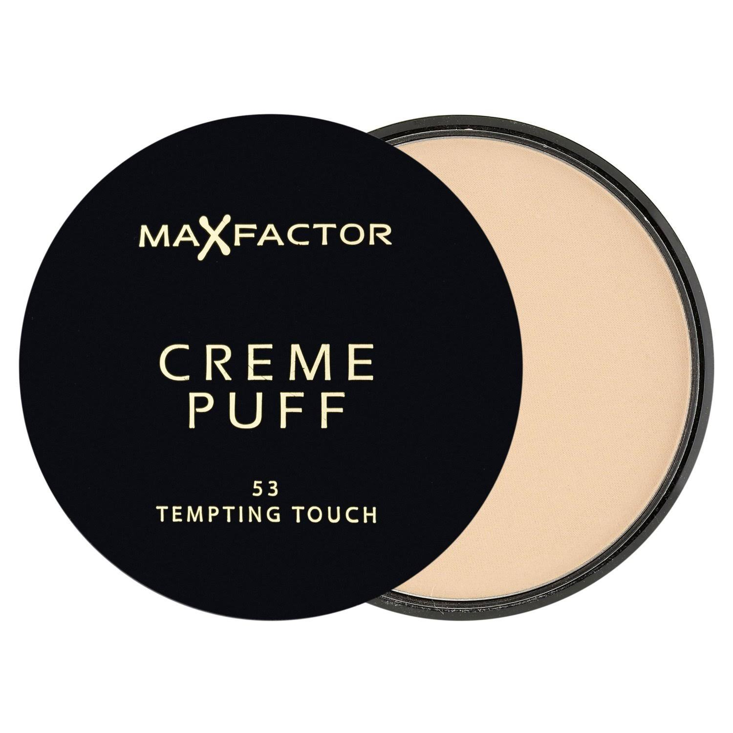 Max Factor Creme Puff Foundation - 53 Tempting Touch, 21g