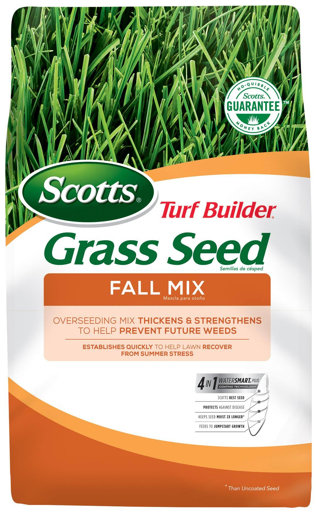 Scotts Turf Builder Fall Mix Grass Seed - 3lb