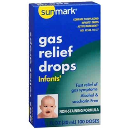 Sunmark Infants Gas Relief Drops - 1oz