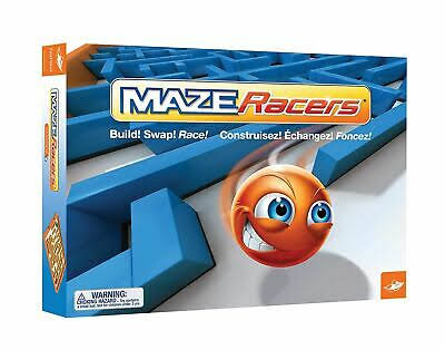 Fox Mind Games Maze Racers - Brown, Green and Red