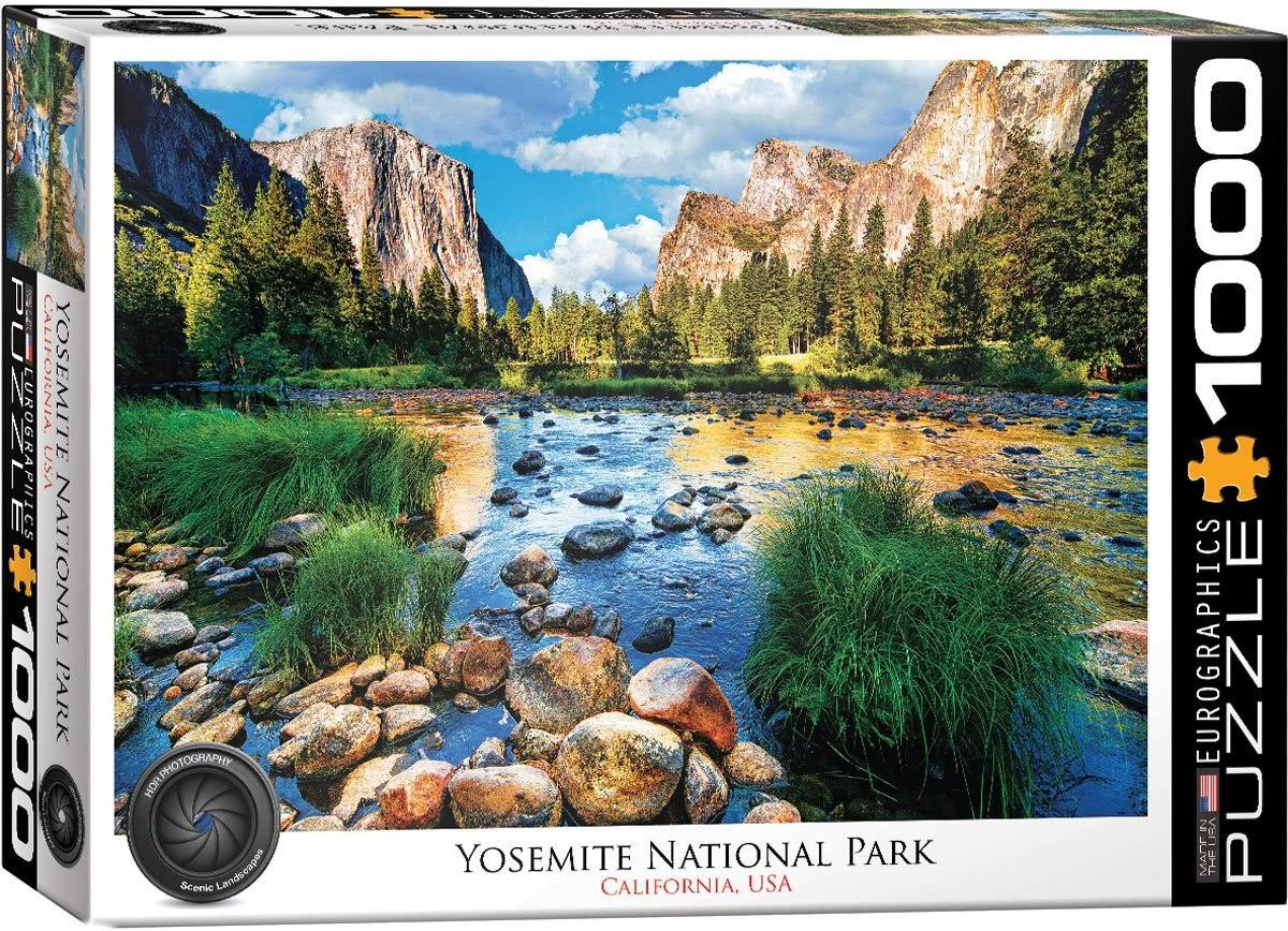 Yosemite National Park 1000-piece Jigsaw Puzzle
