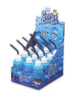 Super Pet Critter Canteen Water Bottle - Blue, 4oz, 12 Pack