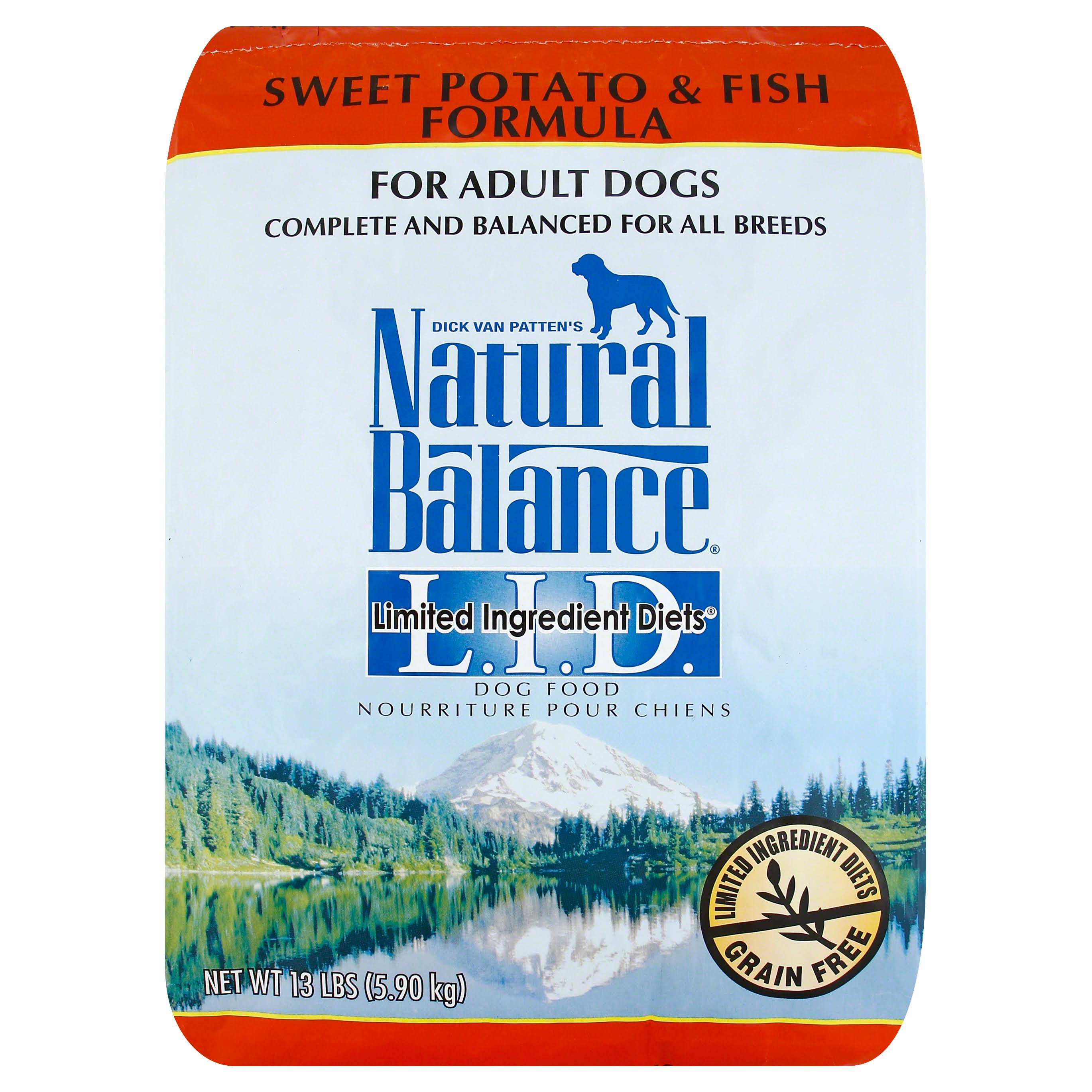 Dick Van Patten's Natural Balance Formula Dry Dog Food - Sweet Potato & Fish