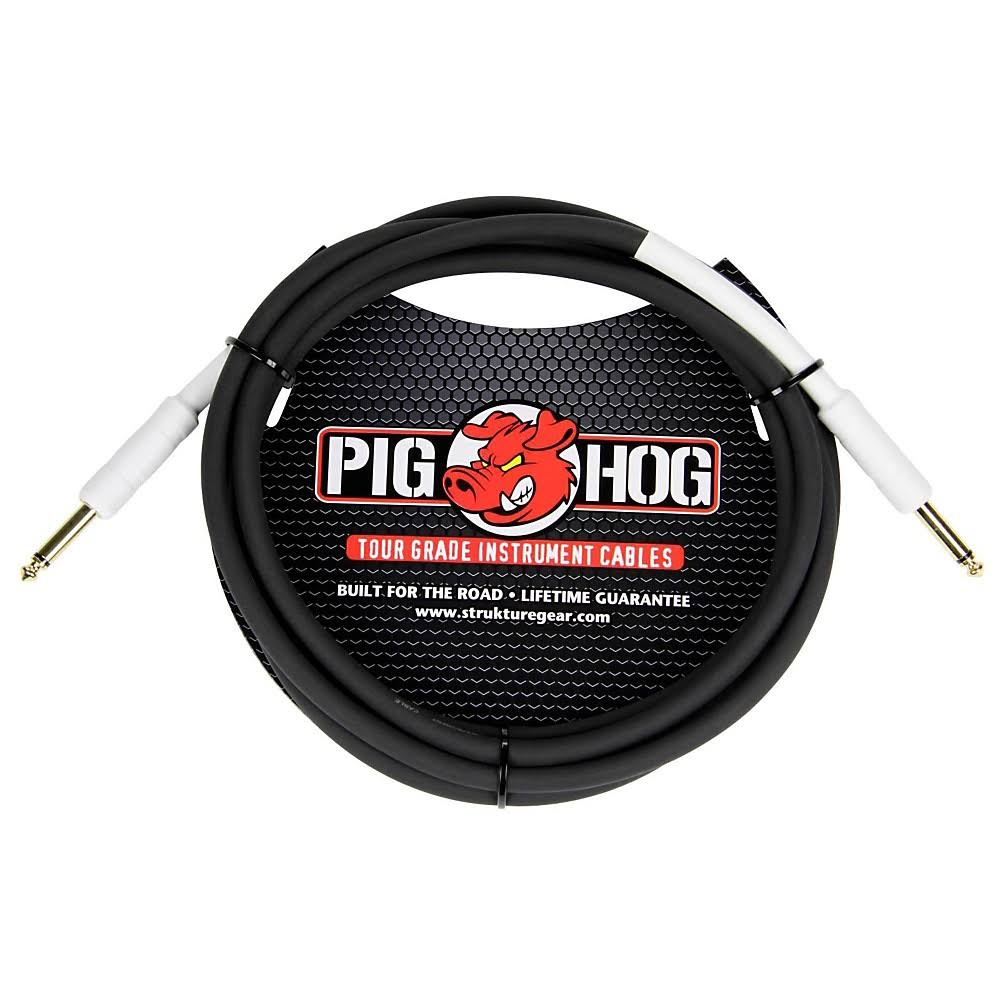 Pig Hog Guitar Instrument Cable - 1'