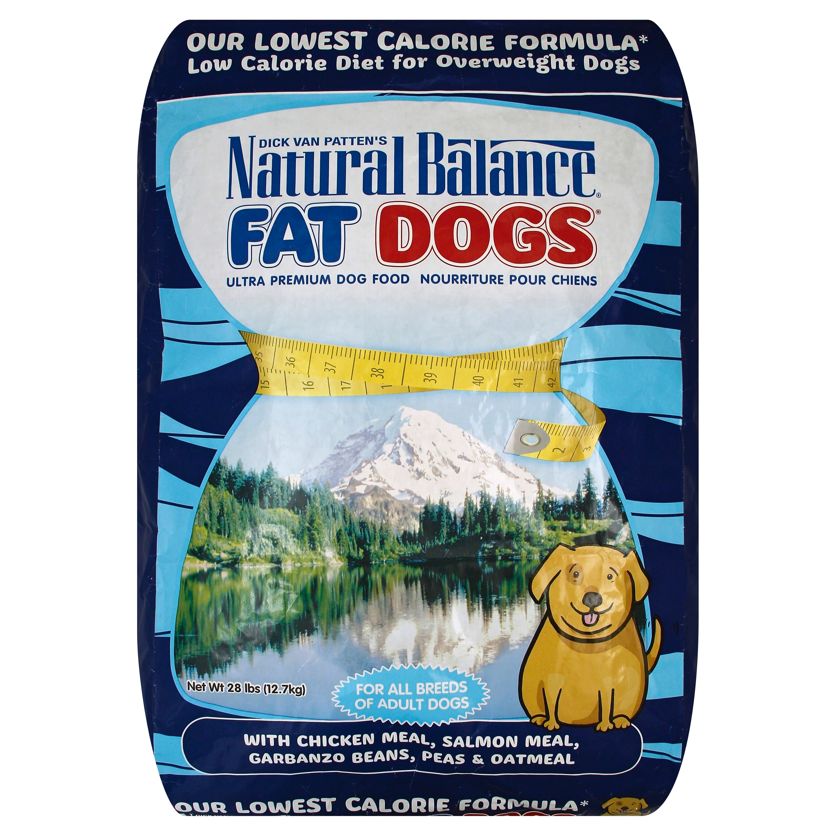 Natural Balance Fat Dogs Dry Dog Food - 28lb