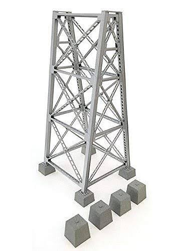 Walthers Cornerstone HO 933-4554 Steel Railroad Bridge Tower Kit