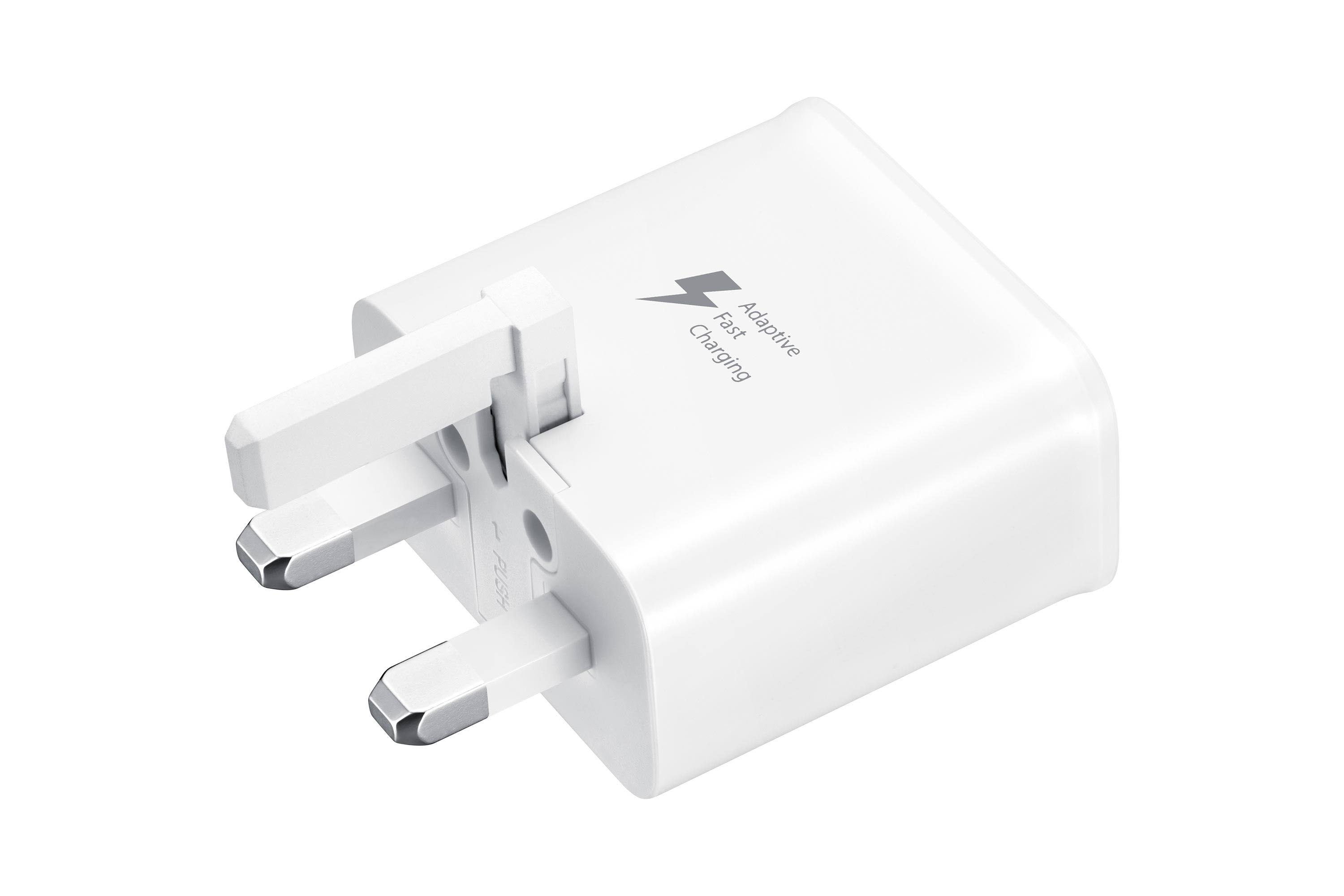 Samsung Original Fast Charging Travel Adapter - White, 9V