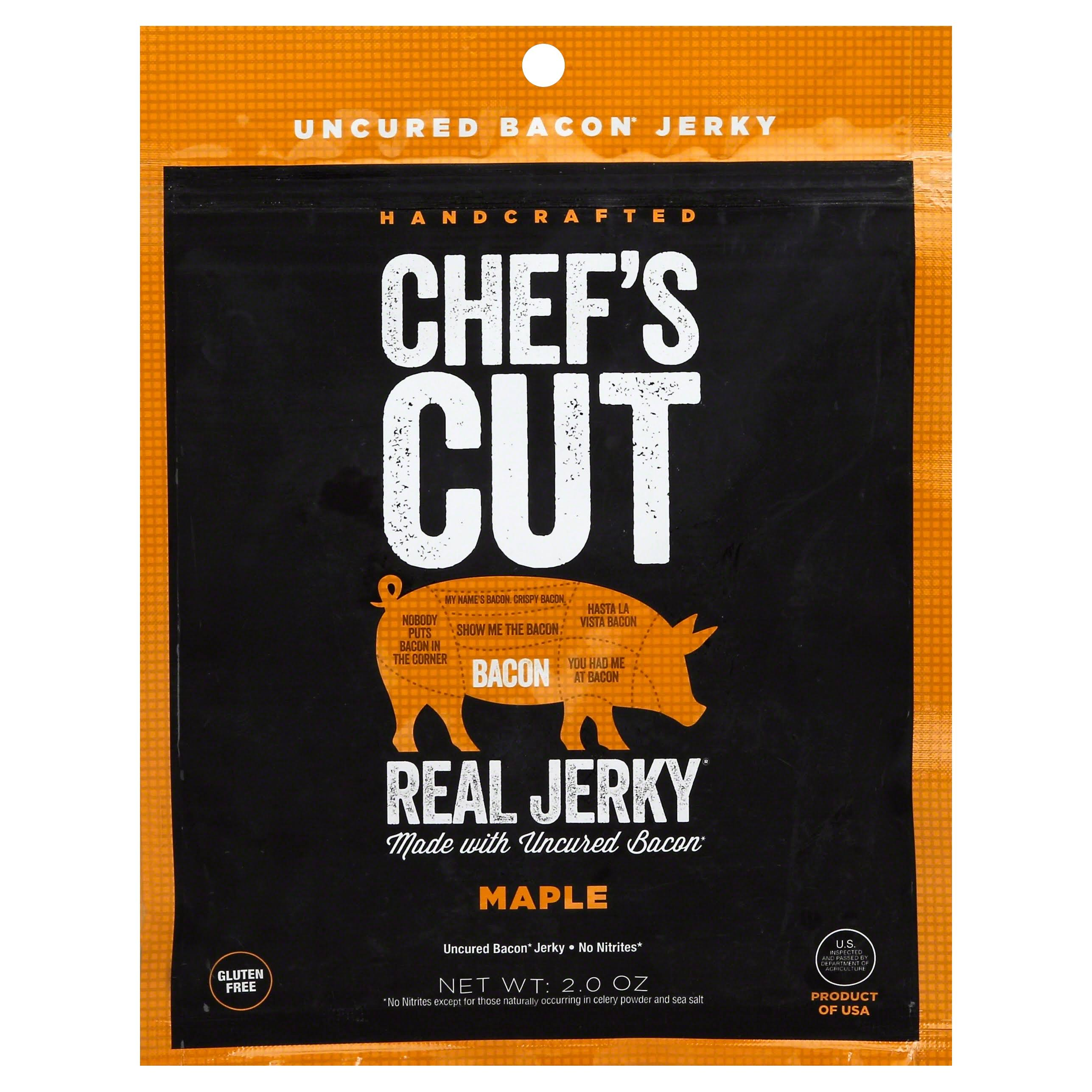 Chef's Cut Real Jerky Bacon - Maple, 2oz