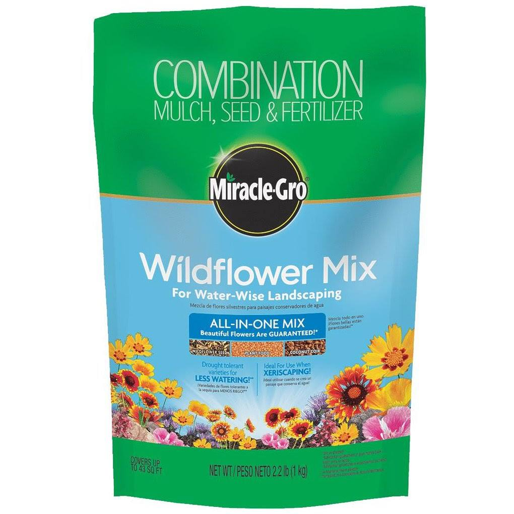 Miracle-Gro Wildflower Mix - 2.2lbs