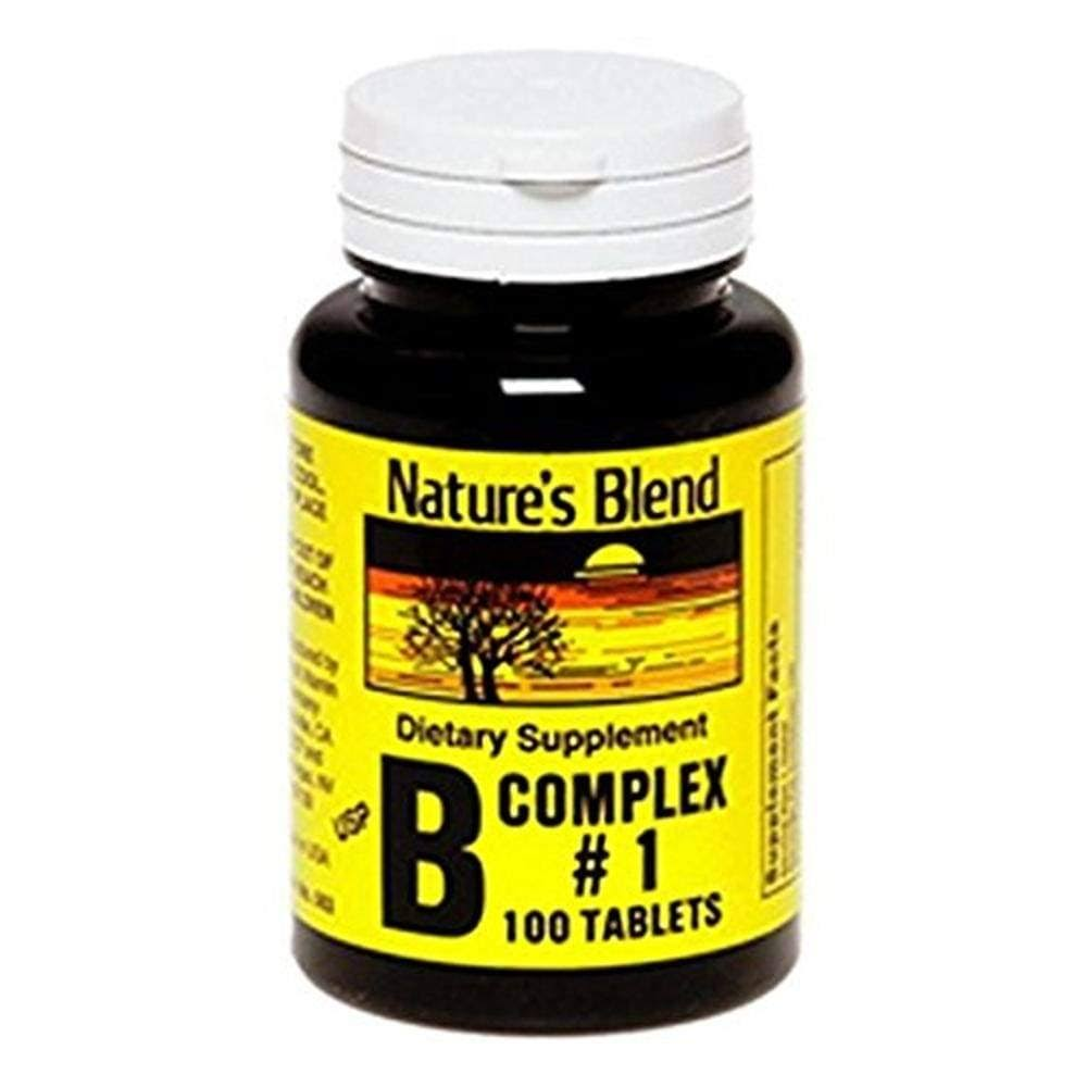 Natures Blend B Complex Supplement - 100ct