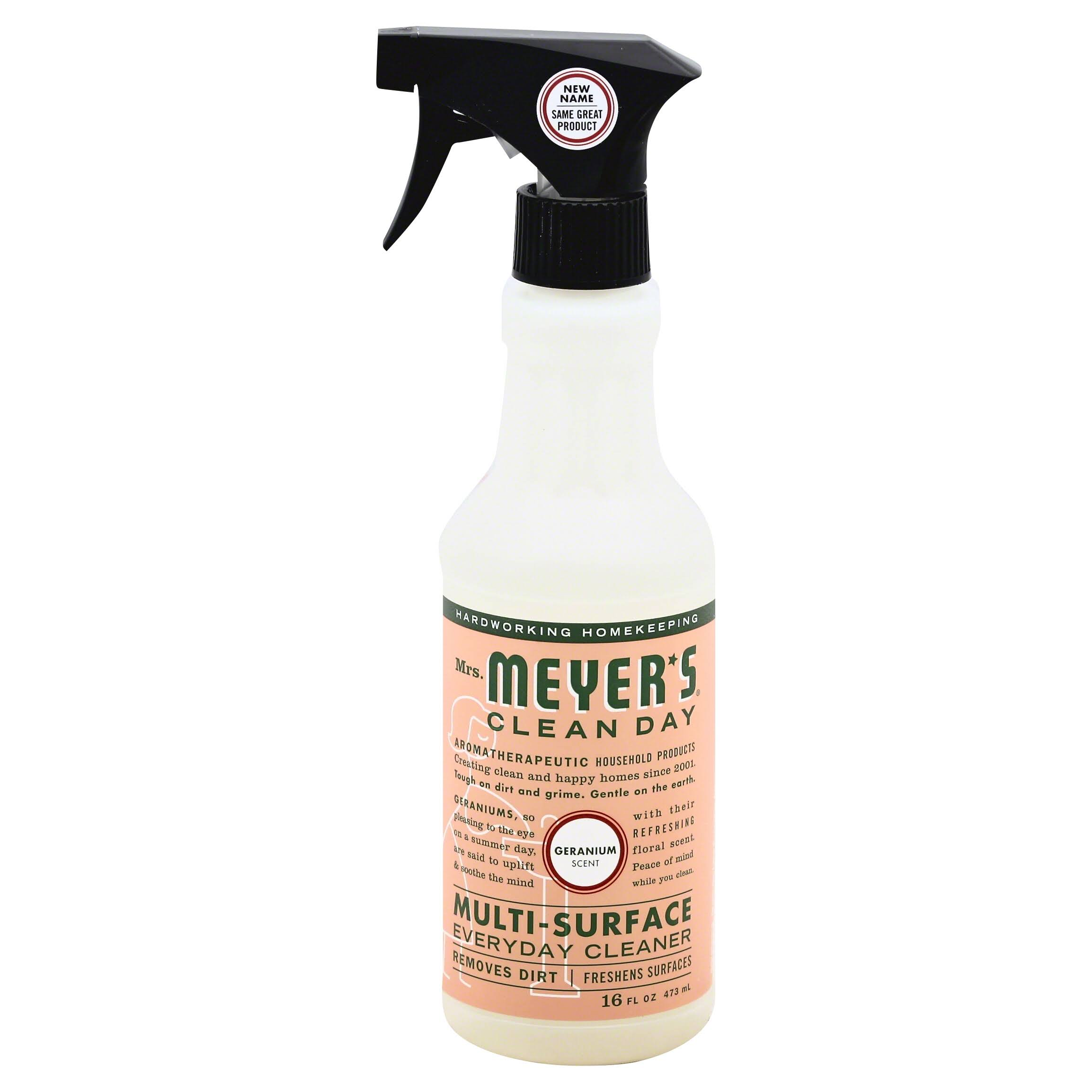 Mrs. Meyers Clean Day Multi-Surface Cleaner - Geranium, 16oz