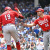 Joey Votto homers again to set franchise record as Cincinnati Reds ...