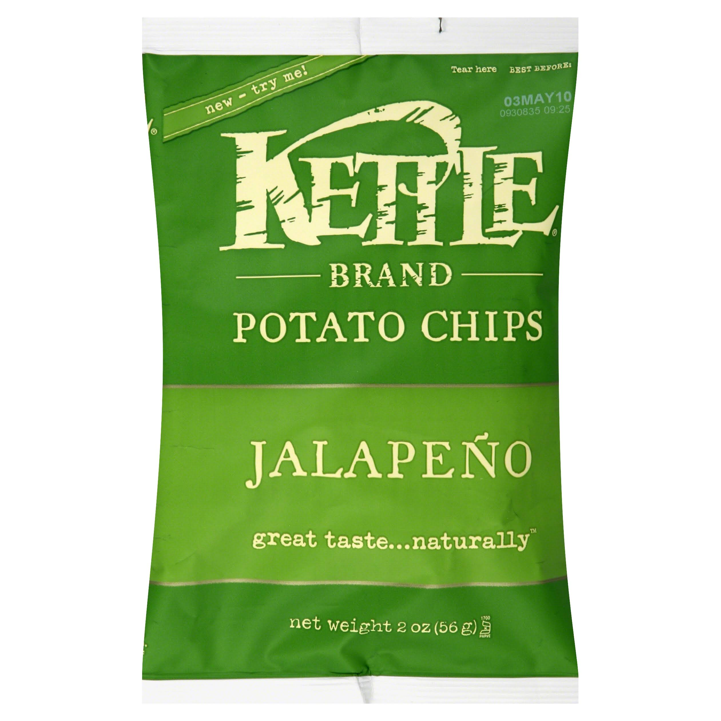 Kettle Brand Jalapeno Chips - 2oz