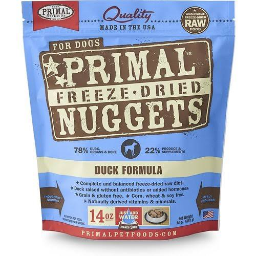 Primal Freeze Dried Nuggets - Duck Formula, 397g