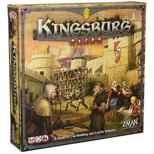 Z-Man Games Kingsburg Second Edition Board Game