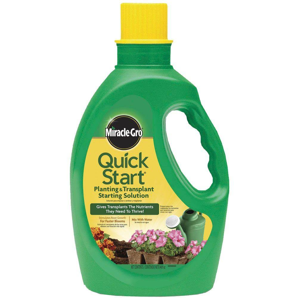 Miracle-Gro Quick Start Liquid Plant Food - 48oz