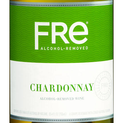Fre Chardonnay, Alcohol-Removed, California Vineyards - 25.4 fl oz