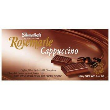 Schmerling's Rosemarie Swiss Milk Chocolate, Cappuccino - 3.5 oz bar