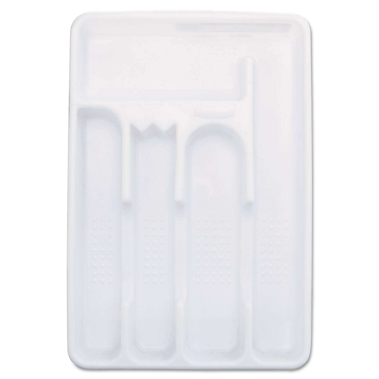 Rubbermaid Cutlery Tray, Small, White