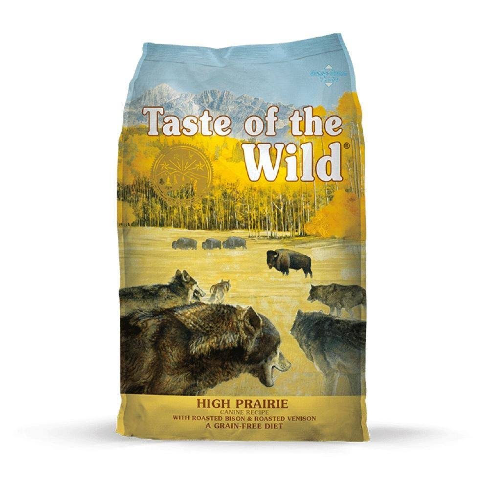 Taste of The Wild High Prairie Dry Dog Food - 14-lb