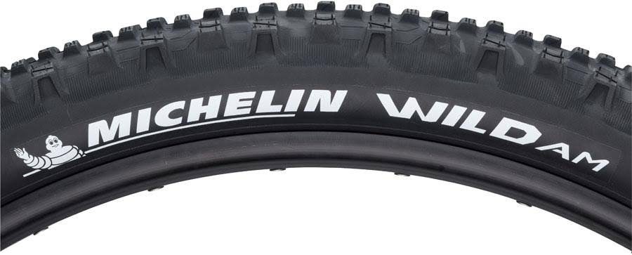 "Michelin Wild Am Tubeless Folding Bicycle Tire - 27.5"" X 2.8"", Black, 58tpi"