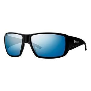 Smith Guides Choice Sunglasses - Matte Black/Chromapop Polarized Blue Mirror