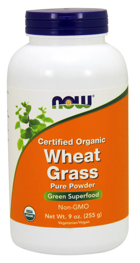 Now Foods - Wheat Grass Powder Organic - 9 oz.