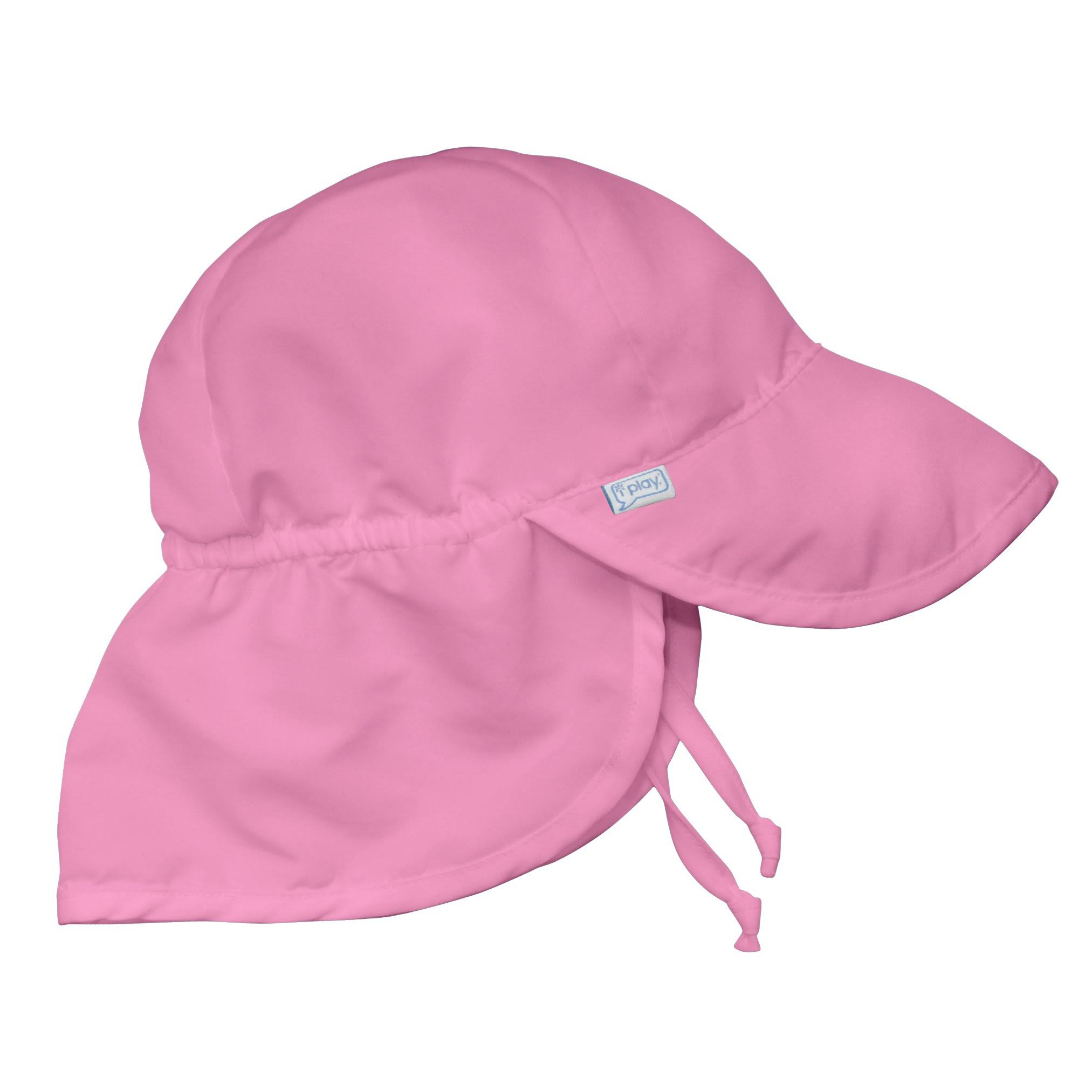 I Play Baby Flap Sun Protection Swim Hat - Light Pink , 9 to 18 Months
