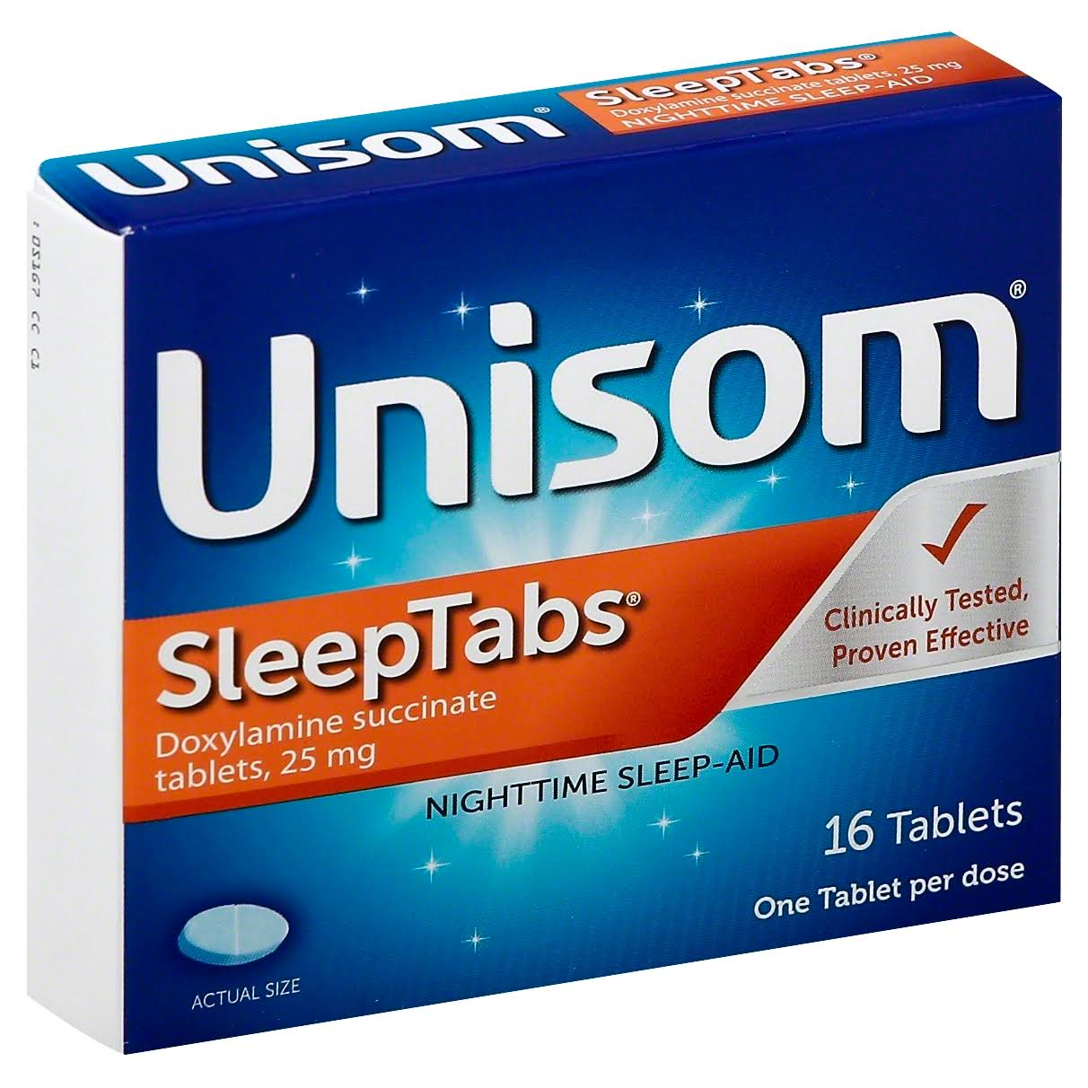 Unisom Nightime Sleep Aid - 16 Tablets