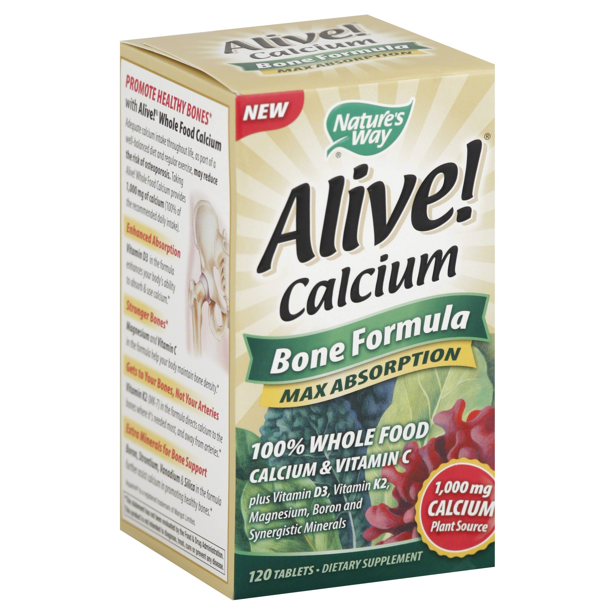 Nature's Way Alive! Calcium - 120 tablets