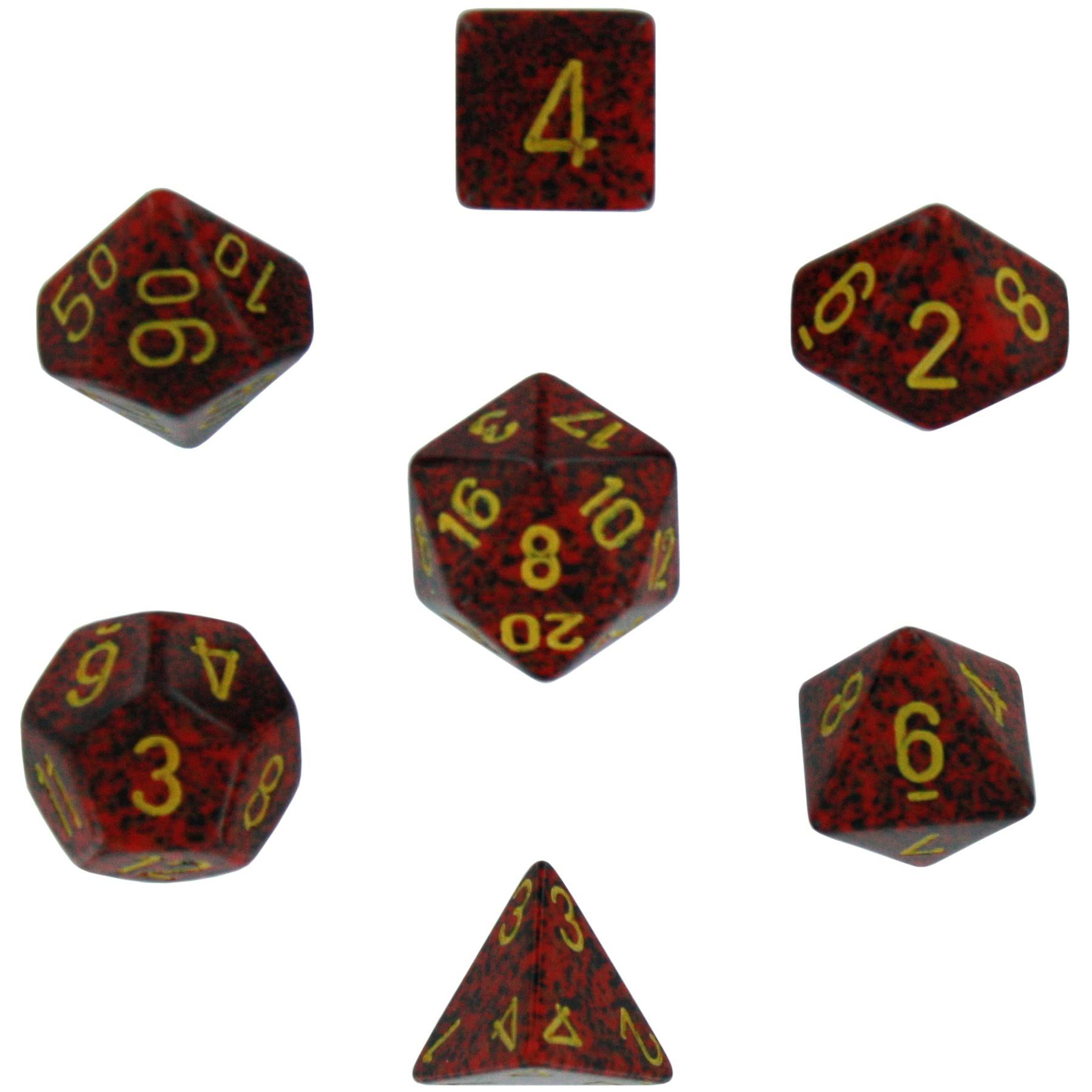 Chessex: Polyhedral Dice Set - Speckled Mercury (7)