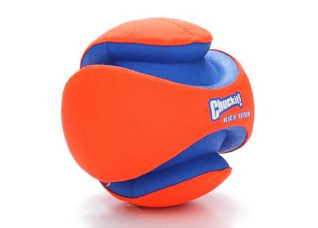 Chuckit Kick Fetch Ball Large Durable Floating Dog Toy - 20cm
