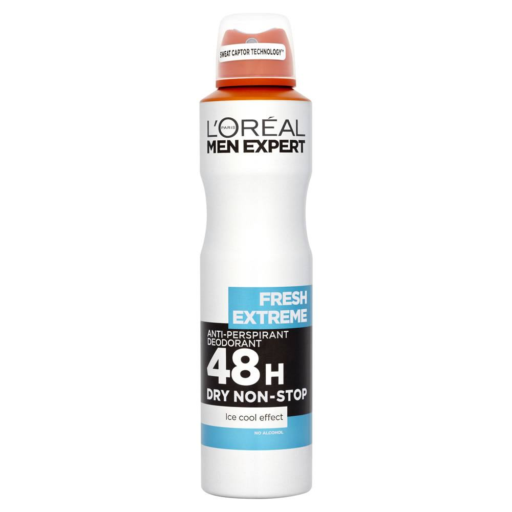 L'Oreal Men Expert Fresh Extreme 48H Anti Perspirant Deodorant - 250ml