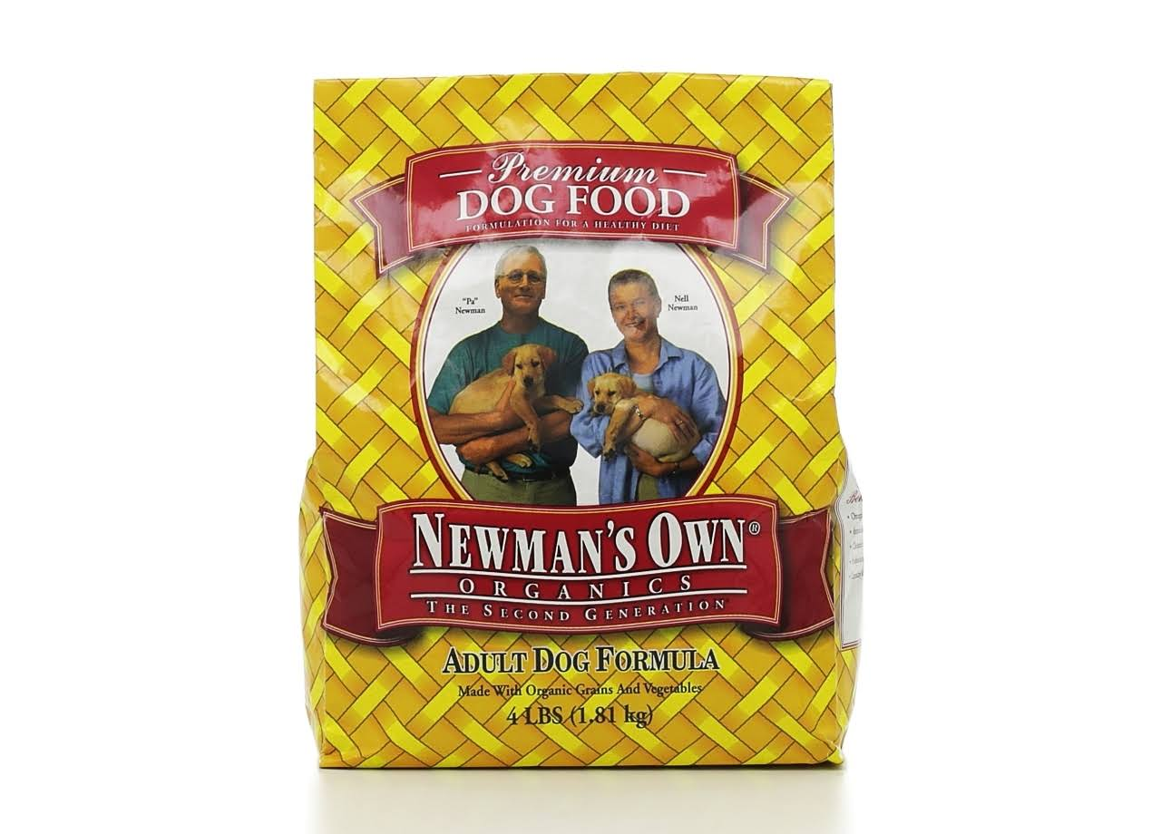 Newman's Own Organic Adult Health Dog Food - 4lbs