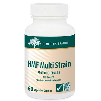 Genestra Brands HMF Multi Strain Probiotic Supplement - 60 Count