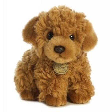 Aurora World Miyoni Poodle Pup Soft Plush Toy - 9""