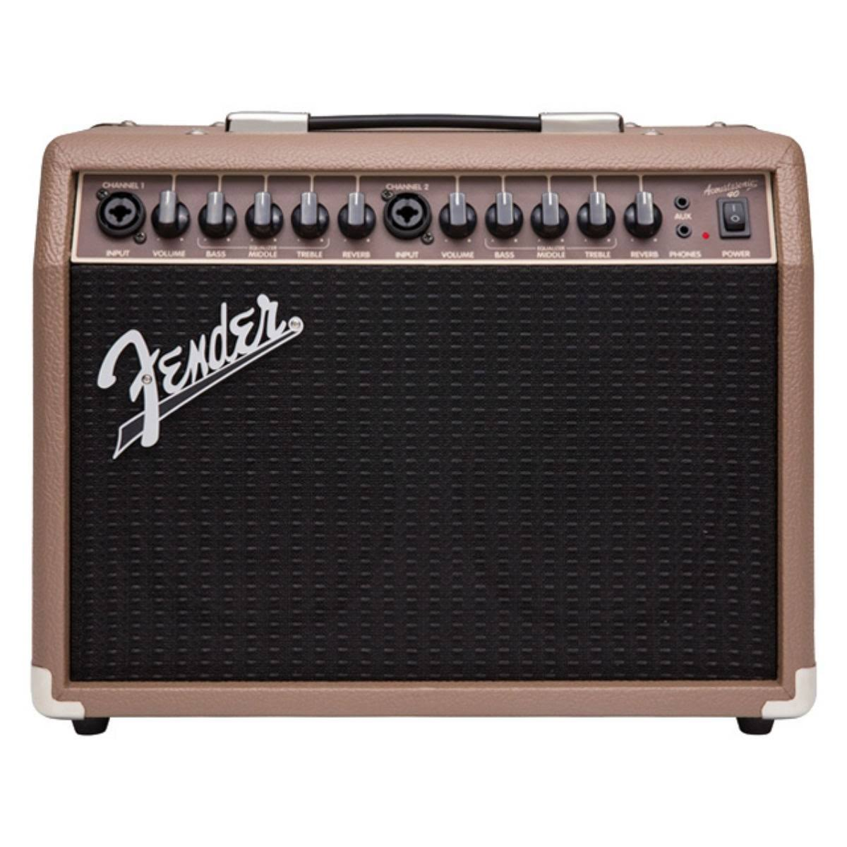 Fender Acoustasonic 40 Combo Acoustic Guitar Amplifier - 40W